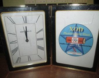 VINTAGE HOWARD MILLER clock photo ... never used