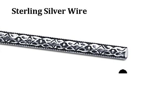 sterling silver pattern wire dead soft 118