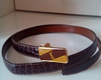 YSL, vintage belt belt.