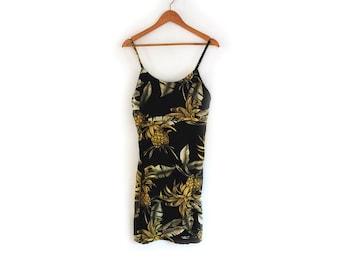 Printed Tank Dress M