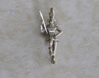 Creed Majorette Marching Band Major Angel Sterling Silver Bracelet Charm Vintage