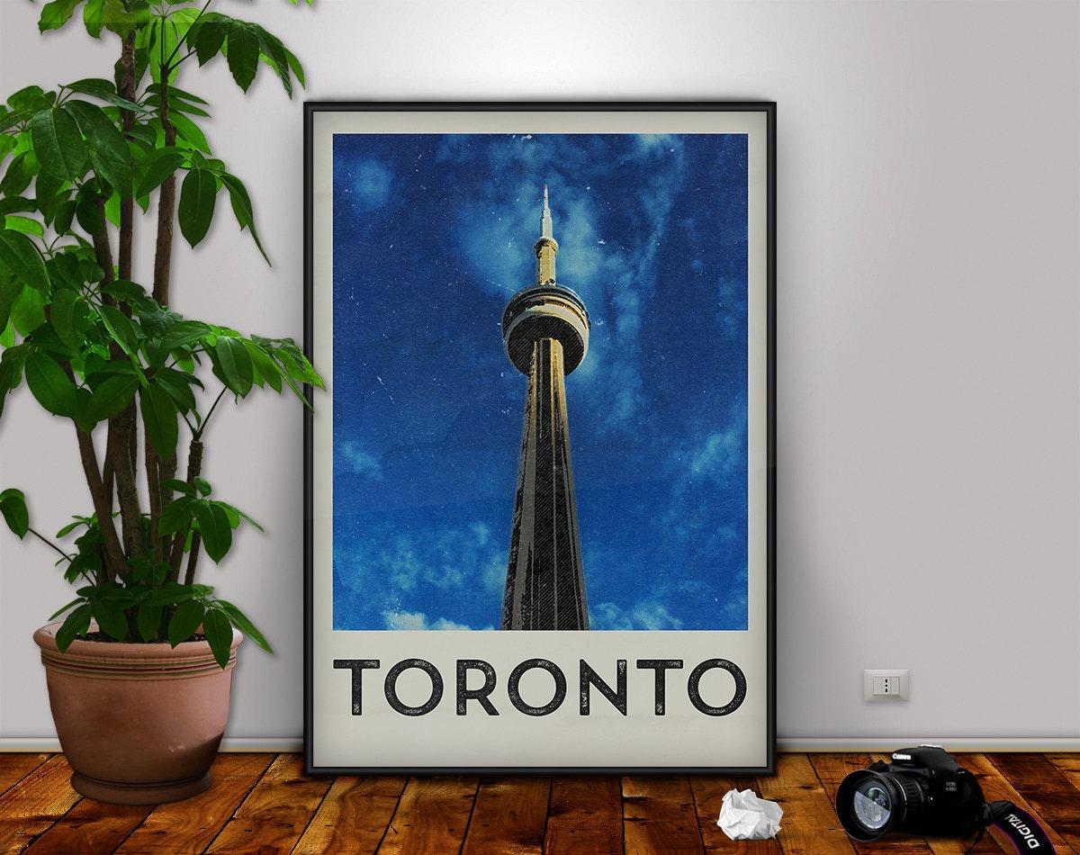 Toronto Print Toronto Toronto Art CN Tower Toronto