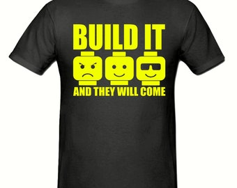 Build it & they will come t shirt, t shirt sizes small - xxl, gift,Adult t shirt,unisex t shirt