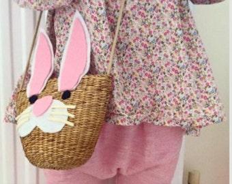Kids bunny side bag *side bag* *tote bag*
