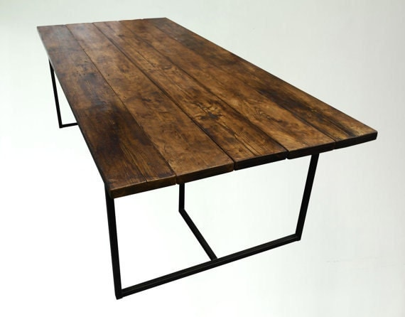 BAR DINING TABLE Industrial Style Matching Benches Available