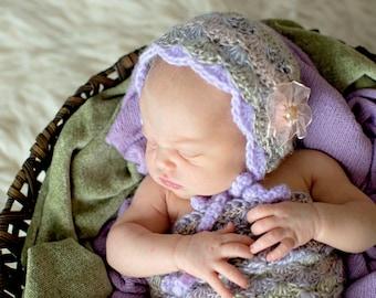 Baby Bonnet.Vintage Bonnet.Baby Gift.Photo Prop