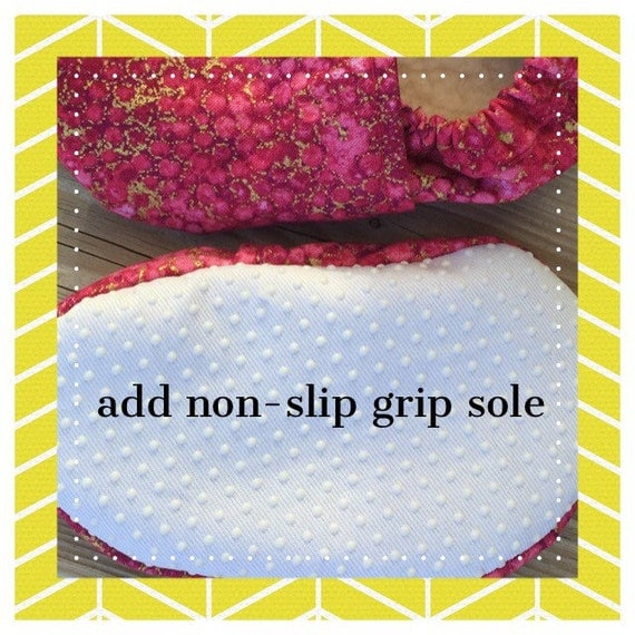 Add Non-slip Sole to any bootie