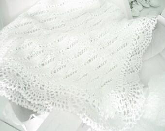 Baby blanket crochet handmade