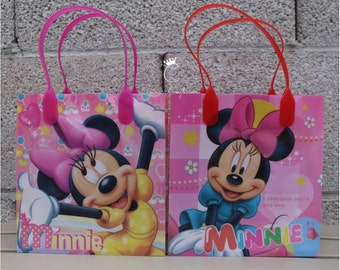 Minnie Mouse Treat Bags, Minnie Mouse Favor Bags, Dulceros de Minnie Mouse