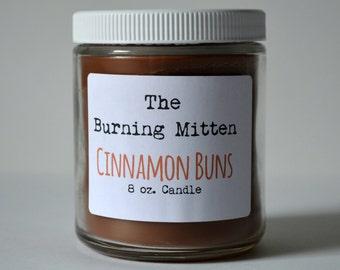 Cinnamon Buns 8 oz. Candle