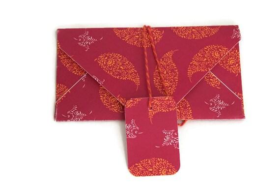 ... envelopes, gift envelope , bollywood parties, asian wedding favors