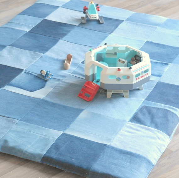 large patchwork baby play mat children playmat baby. Black Bedroom Furniture Sets. Home Design Ideas
