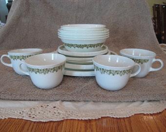 Corelle Spring Blossom Dinnerware Set