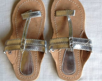 Children sandals,Silver Sandals,Childrens handmade sandals,kids shoes,sandals for baby girls,gifts for girls,kids stuff,baby sandals,