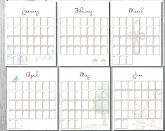 Calendar Guest Book