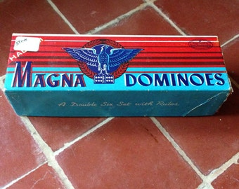 No. 225 Magna Double Six Dominoes