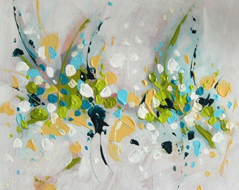 Abstract Painting Modern Art Original Art Abstract Wall art Contemporary Art Painting Landscape Green painting Wall hanging Home decor