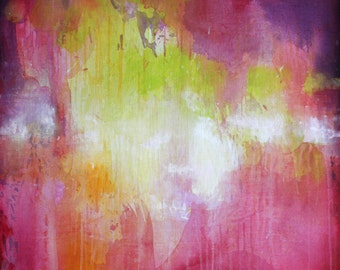 Original abstract painting Large Wall art Abstract art Abstract wall art Painting on Canvas Art Modern artwork Contemporary art Pink