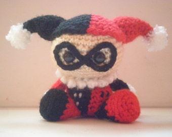 Harley Quinn Amigurumi