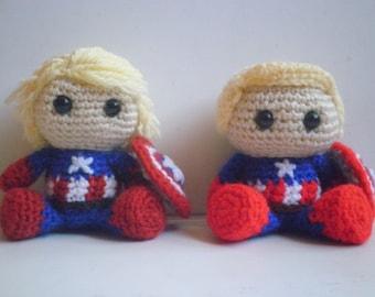 Captain America: First Avenger Amigurumi