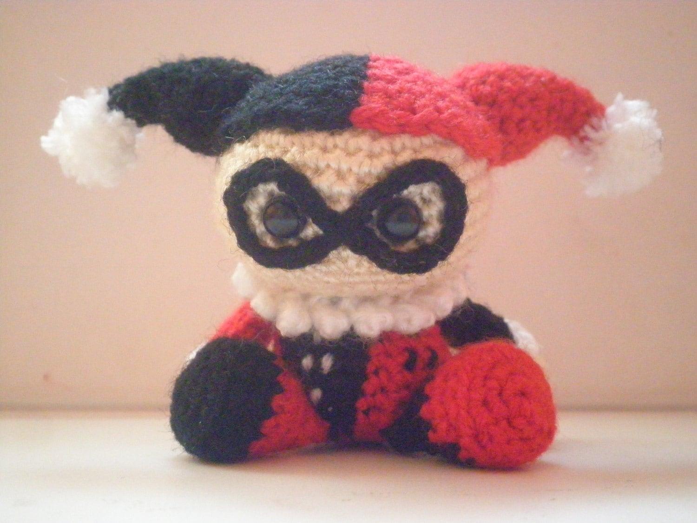 Amigurumi Harley Quinn : Harley Quinn Amigurumi