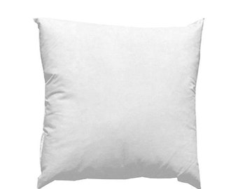 High Quality Polyester OR Down Alternative pillow insert - Available only for those who purchase covers through shop