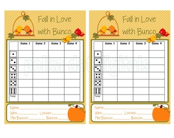 Priceless image throughout printable bunco score sheets