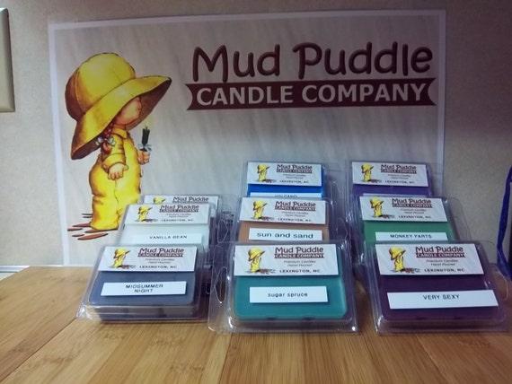 chocolate fudge 3oz hand poured premium wax melt for warmers