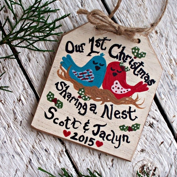 First Christmas Together Ornament First Christmas Married