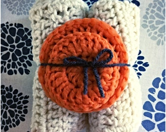 Kitchen Gift Set: 2 Scrubbies/Washcloth