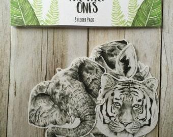 The Wild Ones sticker pack