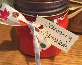 Cranberry Marmalade 8oz Soy Candle