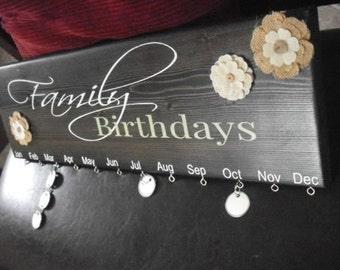 Custo  Family Birthdays