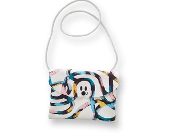 Lio the Doodle, faux leather purse for girls
