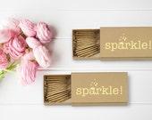 Wedding Party Sparklers Set of 20 Per Box | Wedding Sparklers | Party Decor | Wedding Favors | Wedding Decoration