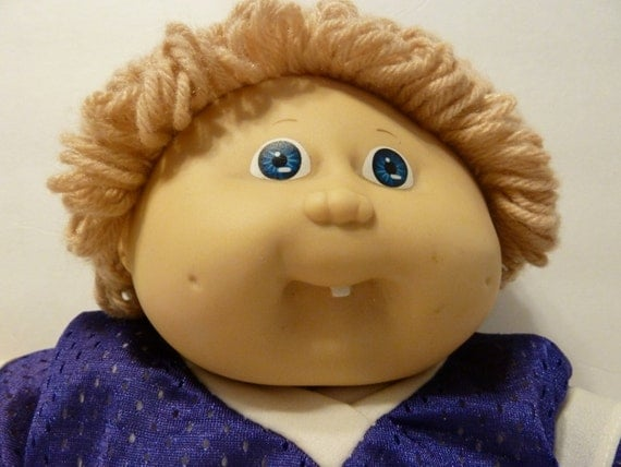 Cabbage Patch Boy Doll W Dimple