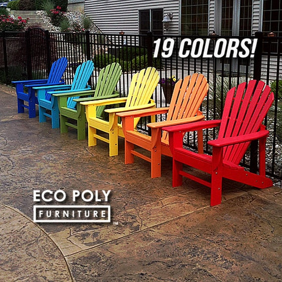 Ecoadirondack Chair Poly Lumber Adirondack By Ecopolyfurniture