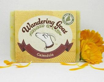 Calendula & Sweet Orange Goats Milk Soap