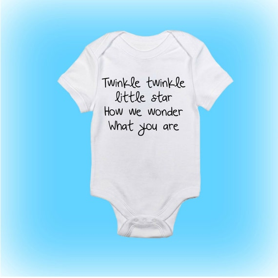Unique Baby Shower Gift Ideas Clothes : Unique baby gift shower onesie? twinkle
