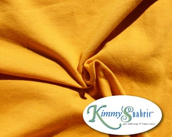 Mustard Knit Fabric, Cotton Lycra Fabric, Lycra Spandex Fabric, 4 Way Stretch Fabric, Cotton Jersey Knit Fabric, Knit Material