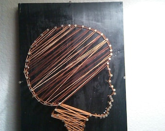 AfroCentric String Art