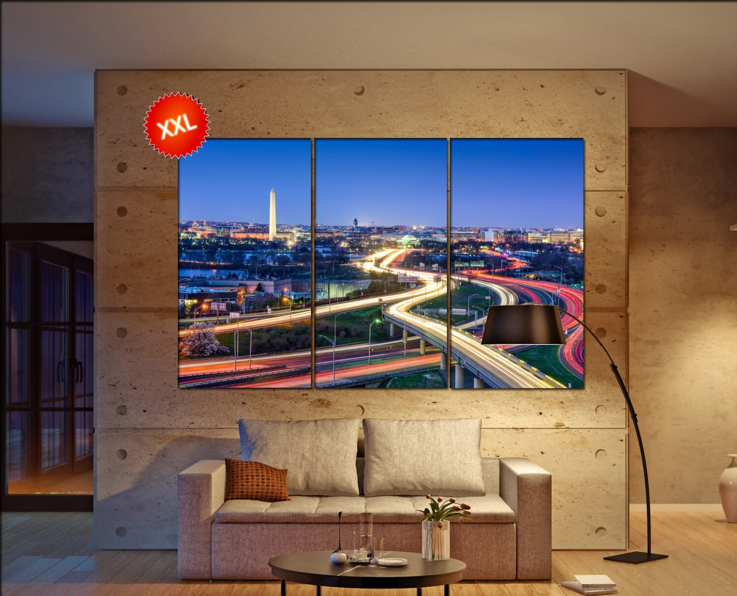 Washington Dc Wall Art washington d.c. skyline wall art print prints on canvas washington