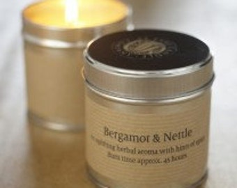 St Eval Bergamot and Nettle Candle Tin
