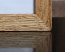 Wood frame - Oak picture frame - for photos 4x6 wooden picture frame
