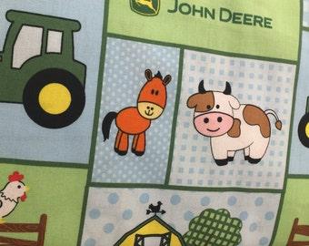john deere baby farm animals tractor nursery toddler curtain valance