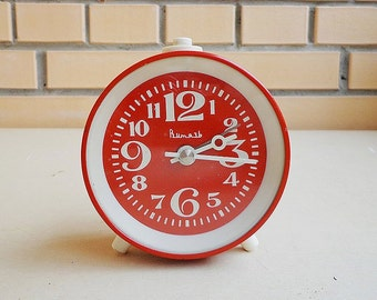 "Alarm ussr clock ""Vityaz"", vintage soviet alarm clock"