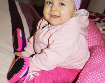 Baby Sneakers, Purple Converse, Nike Headband, Cute Shoes, UGG Baby Sneakers, Baby Boots, Nike Girls Shoes, Girls Sneakers, Newborn  Shoes,