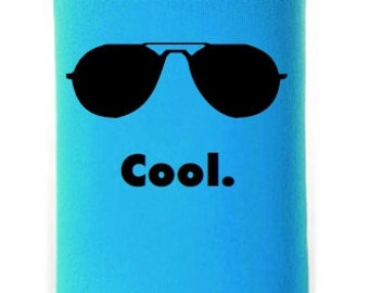 Funny Can Insulator, Cool, Printed Can Insulator, Beer Cooler, Personalized Beverage Insulator