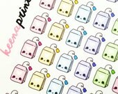 A138 | TEA BAGS Stickers - Daily Planner Stickers, Diary Stickers, Journal Stickers, Scrapbook stickers