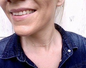Choker necklace! -Stunning summer trend!